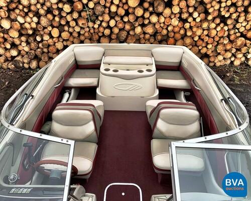 Maxum 2100SR 4.3 motorboot 35-50-YB incl. Pega-trailer -9-Persoons-