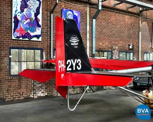 Comco Fox C 22 C / Bombardier 2-persoonsvliegtuig, PH-2Y3