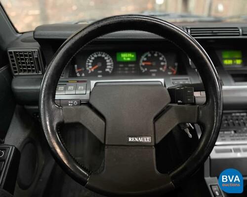 Renault 25 2.0 TXI Phase II 135pk -Org.NL- 1991, DJ-HP-72
