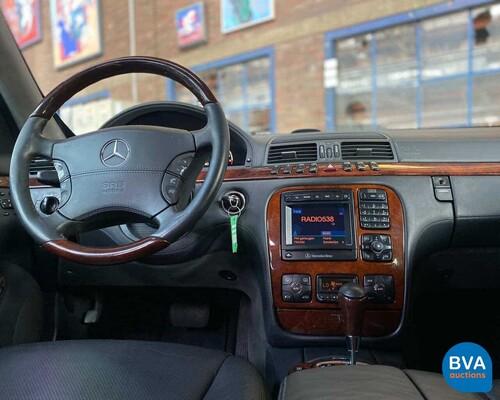Mercedes-Benz S600 Lang Guard B7 -Gepantserd!- V12 S-klasse 2002