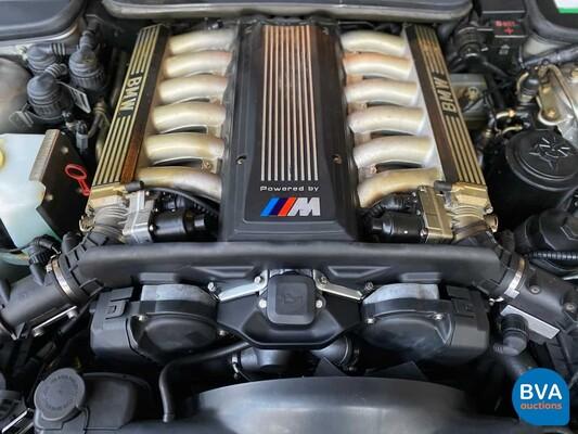 BMW 850CSi M8 5.6 V12 1993 Sterlingsilber -82.000km-