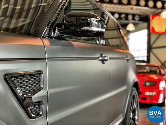 Range Rover Sport SVR 5.0 V8 550pk 2017 Land Rover, NF-527-L