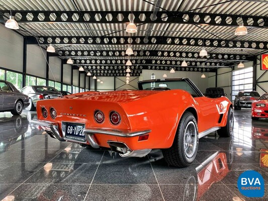 Chevrolet Corvette L82 350cu. carbriolet 189pk 1973, 68-YD-26