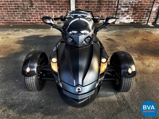Can-Am Spyder RS 98pk 2009 Bombardier , 01-JHD-3