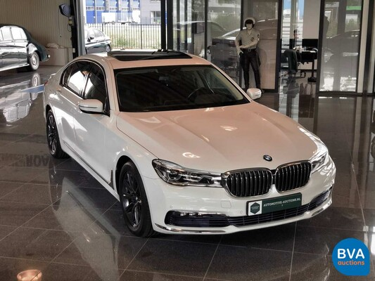 BMW 740i 326pk Individual Shadow-Line Carbon NW-Model 7-serie 2016