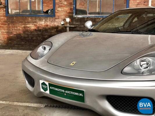 Ferrari 360 Modena 3.6 F1 400pk 2004, 01-RT-FS