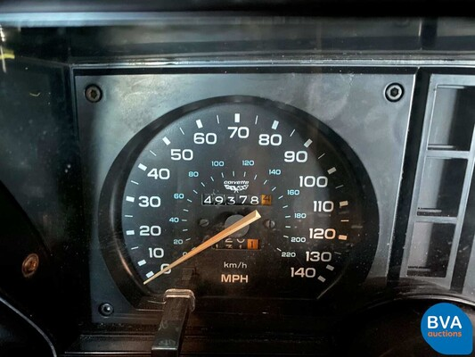 Chevrolet Corvette C3 Targa Stingray 230pk -Sportonderstel- 1980, J-800-RH