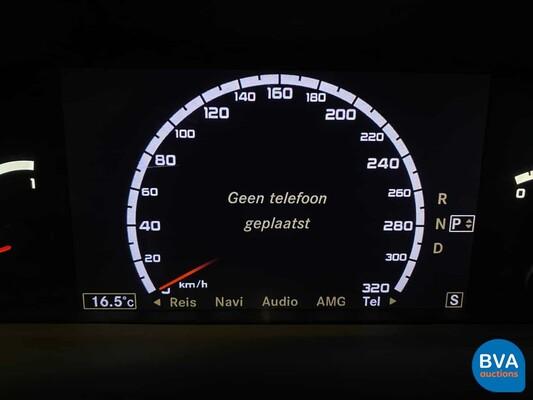 Mercedes-Benz S63 AMG Lang 525pk S-klasse 2009, J-410-JK