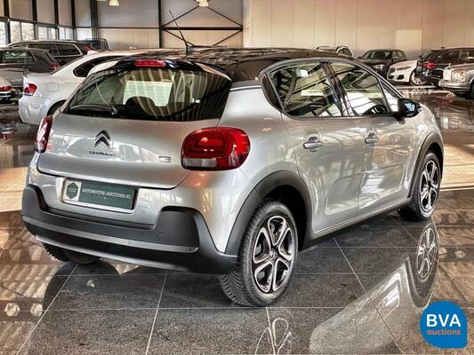 Citroën C3 1.2 THP Feel 110pk Automaat 2017, K-189-RR