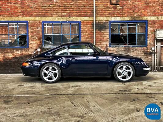 Porsche 911 Carrera Coupé 993 3.6 272pk 1994, 33-DD-SV