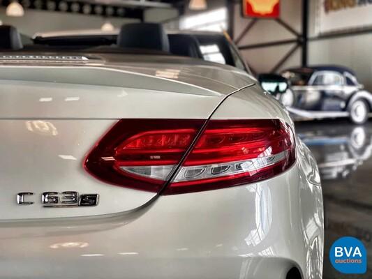 Mercedes-Benz C63S AMG Cabriolet 4.0 V8 BiTurbo 510pk C-klasse 2017, G-133-FX