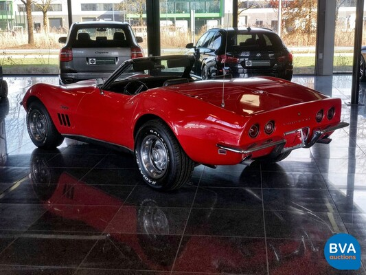 Chevrolet Corvette C3 Convertible Chrome Bumper Cabriolet 1969
