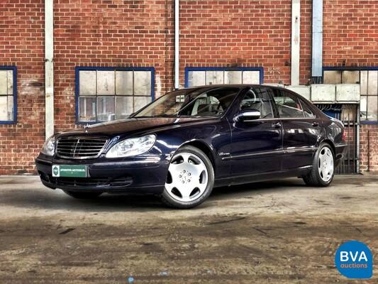 Mercedes-Benz S600 Lang 500pk S-Klasse 2003, 50-ND-NT