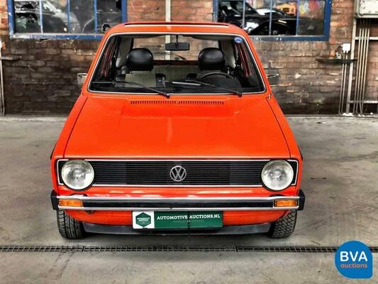 Volkswagen Golf I Zwaluwstaart Swallowtail 1.5 LS 1975