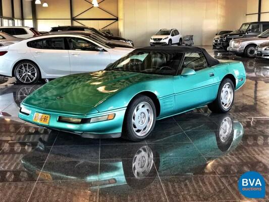 Chevrolet Corvette C4 5.7 V8 Convertible 1991, K-666-RF