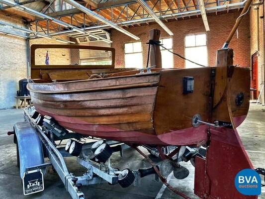 Notarisboot/Autoboot Teakhout Vetus 1920