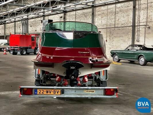 Quicksilver Classic 20 Mercruiser MPI 235pk (RIVA BOESCH Shape) Speedboot 2011