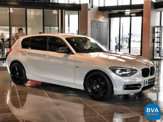 BMW 118i Sport Line Shadowline 1-serie 170pk 2012, G-676-KL